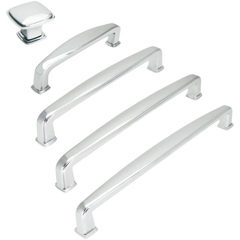 Cosmas 4392 Series Polished Chrome Cabinet Hardware Pulls