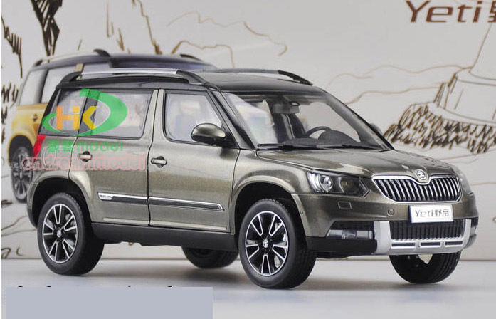 1 18 skoda yeti suv 2013 die cast model grey ebay. Black Bedroom Furniture Sets. Home Design Ideas