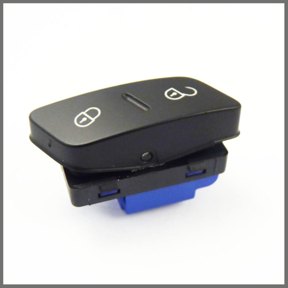 Driver S Central Door Locking Switch Button For Vw Golf