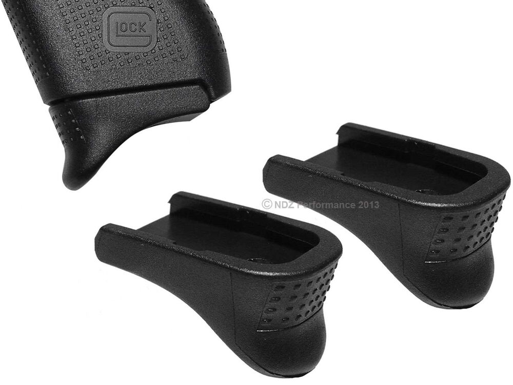 pg 42 black pinky poly textured grip extension 2 pack for glock 42 p42 380 ebay. Black Bedroom Furniture Sets. Home Design Ideas
