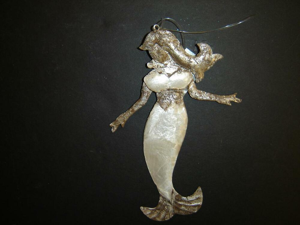 Pewter Christmas Ornament