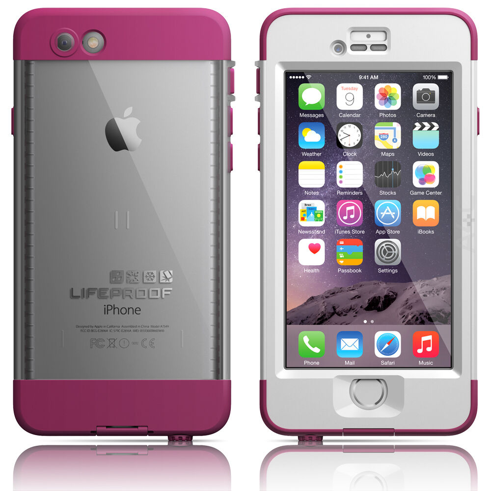 iphone 6 lifeproof lifeproof iphone 6 4 7 quot nuud waterproof pink pursuit 11356