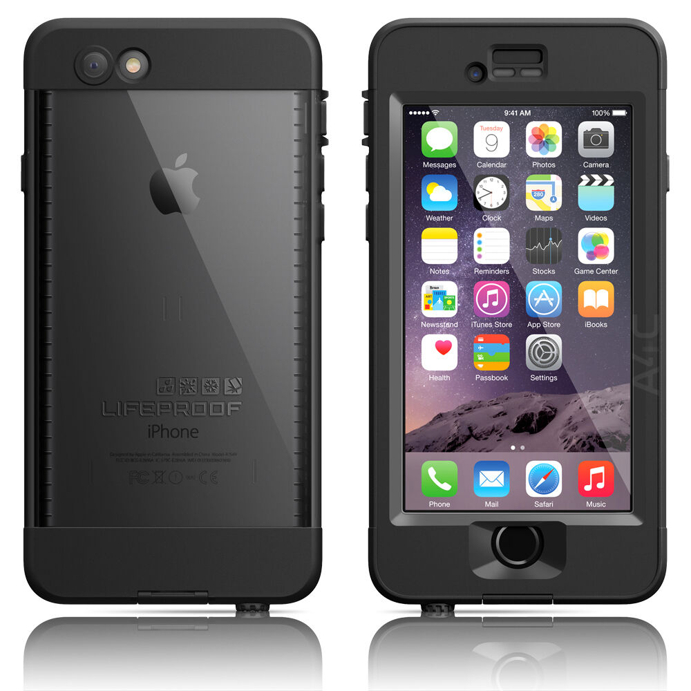 iphone 6 lifeproof lifeproof iphone 6 4 7 quot nuud series waterproof black 11356