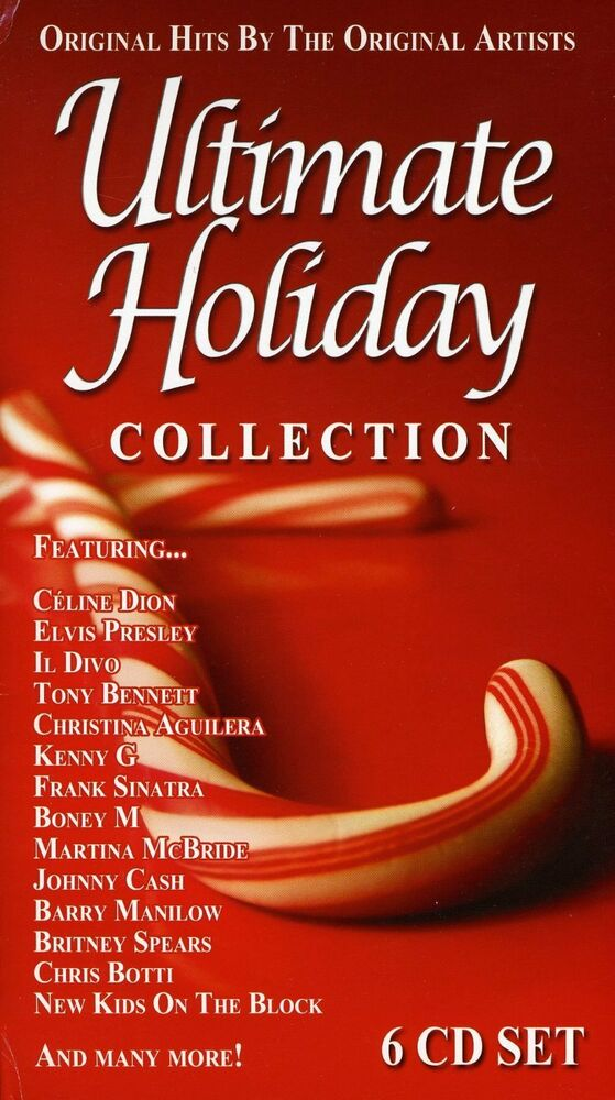Ultimate Christmas Collection: Ultimate Holiday Collection (CD 6 Disc) Christmas Hits By