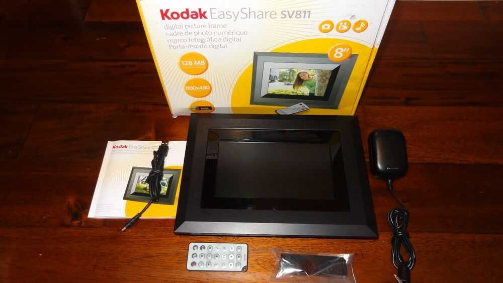 Kodak Easyshare 8 Digital Picture Frame Sv811 High Resolution