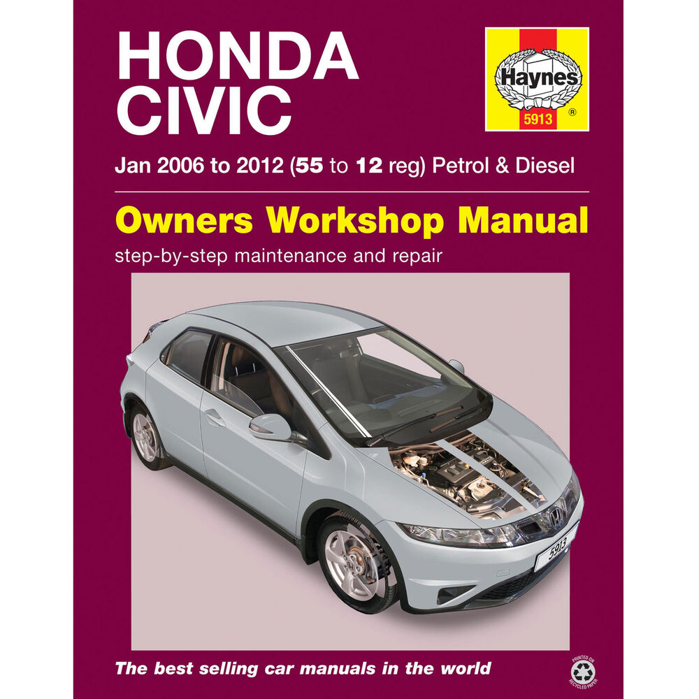haynes manual honda civic 2006