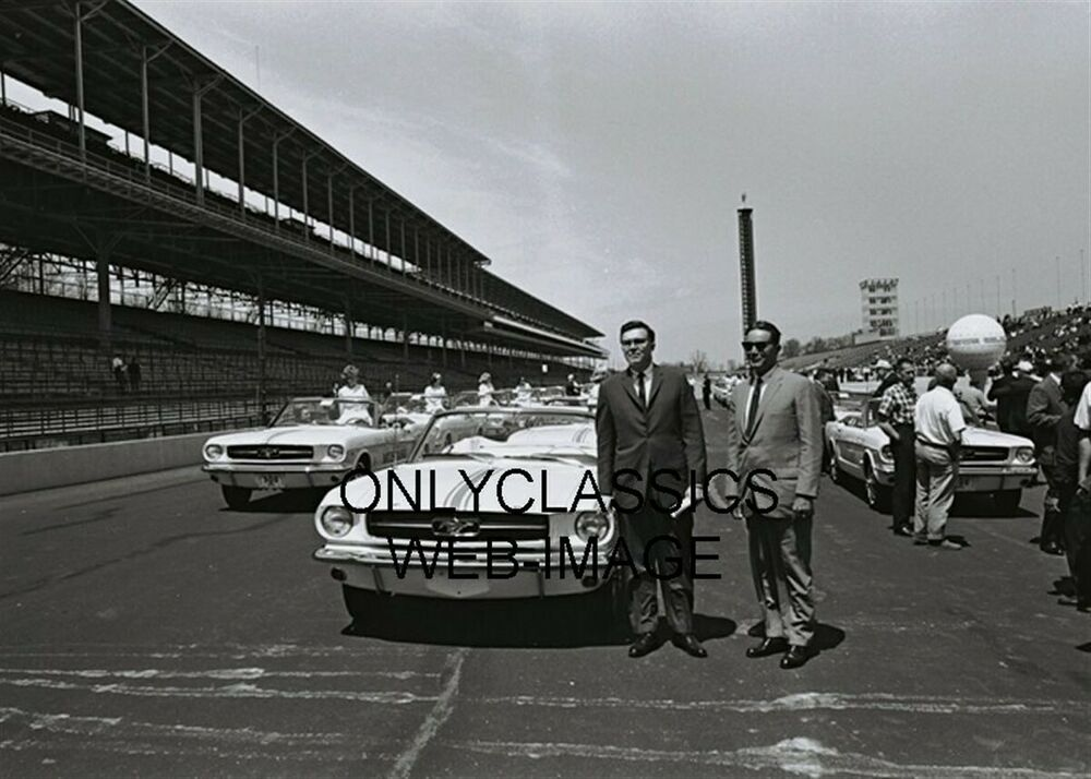 1964 indianapolis motor speedway photo ford mustang for Indianapolis motor speedway clothing