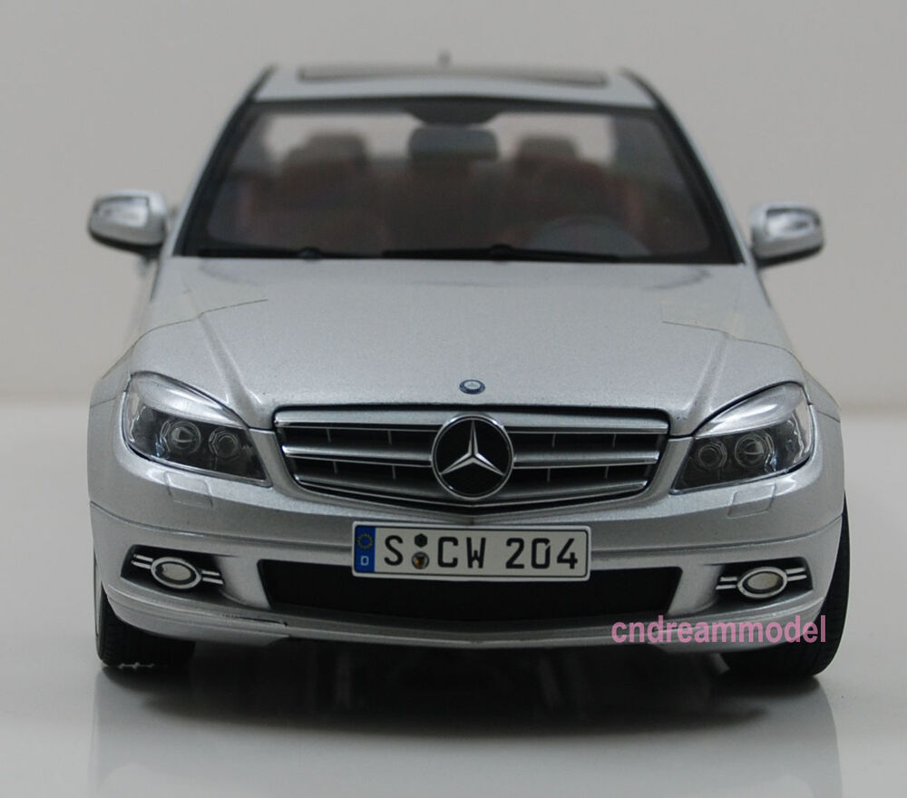 1 18 autoart mercedes benz c class die cast model new for Diecast mercedes benz