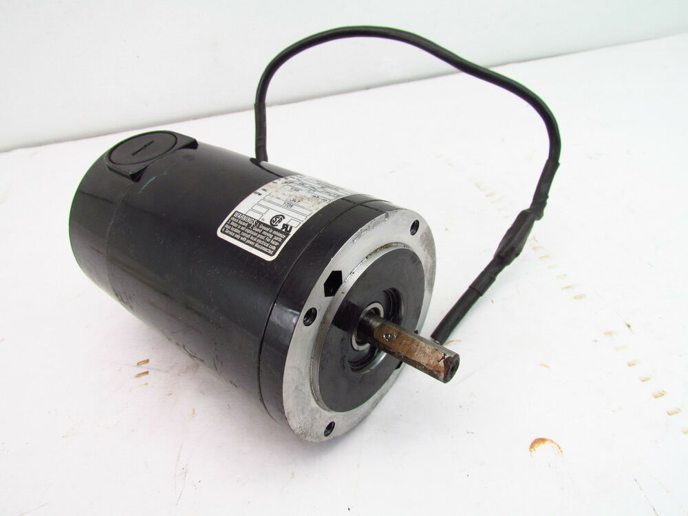 Bodine dc motor windpower generator used tested 42y5bepm for 1 3 hp motor