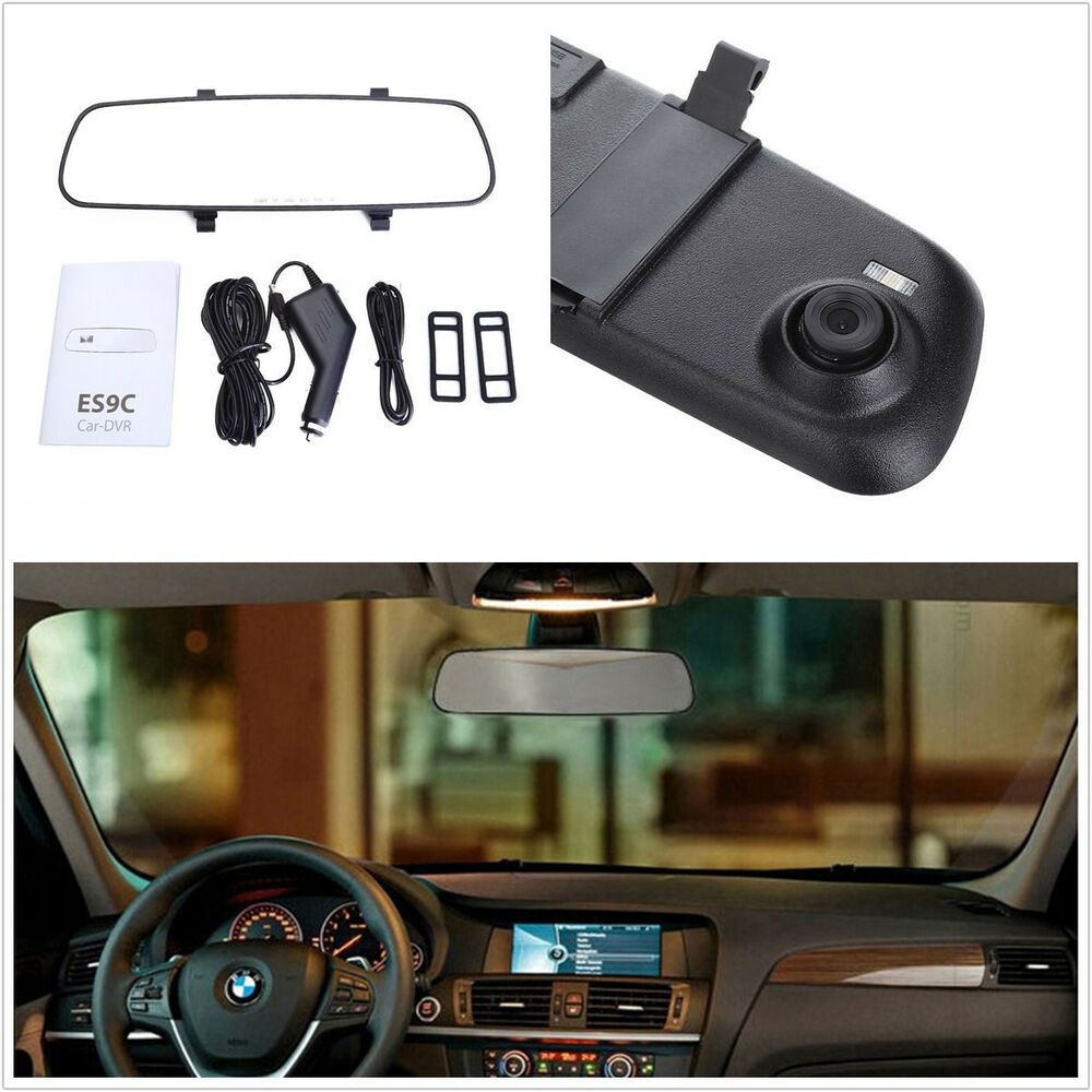 2 4 lcd hd car suv interior dashboard rearview mirror. Black Bedroom Furniture Sets. Home Design Ideas
