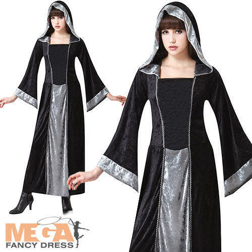 Cool Details About Midnight Vampiress Womens Vampire Fancy Dress Up Costume