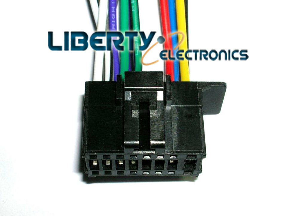 pioneer fh x700bt wiring installation new 16 pin wire plug harness for pioneer fh-x720bt / fh ...