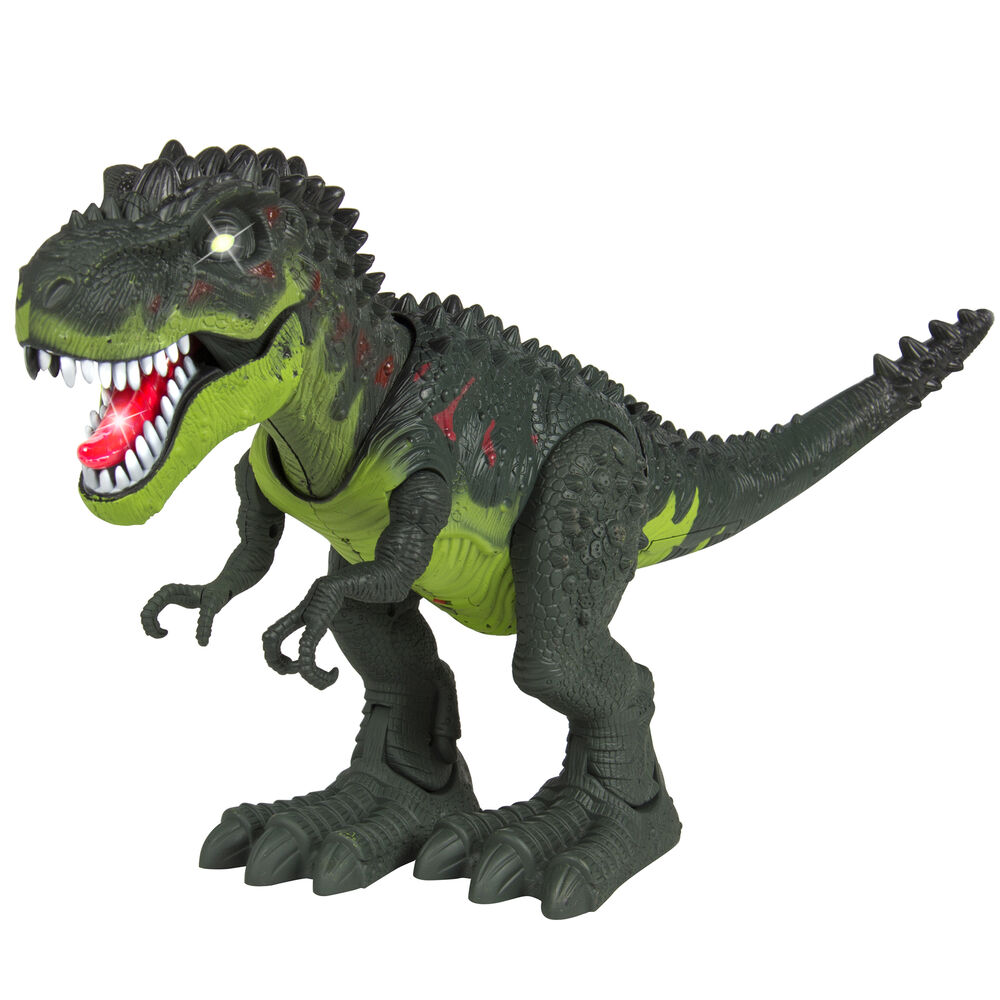 Kids Toy Walking T-Rex Dinosaur Toy Figure With Lights