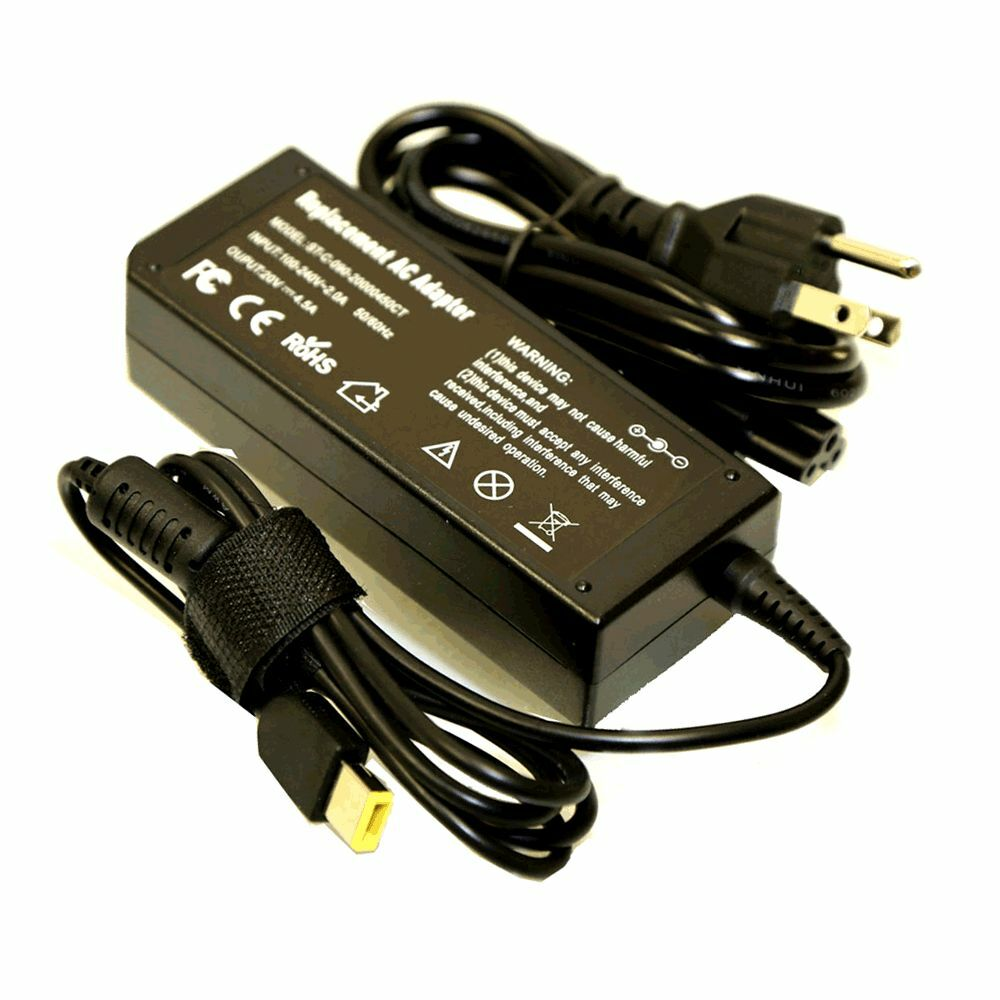 Ac Adapter Power Supply Charger Cord For Lenovo Thinkpad