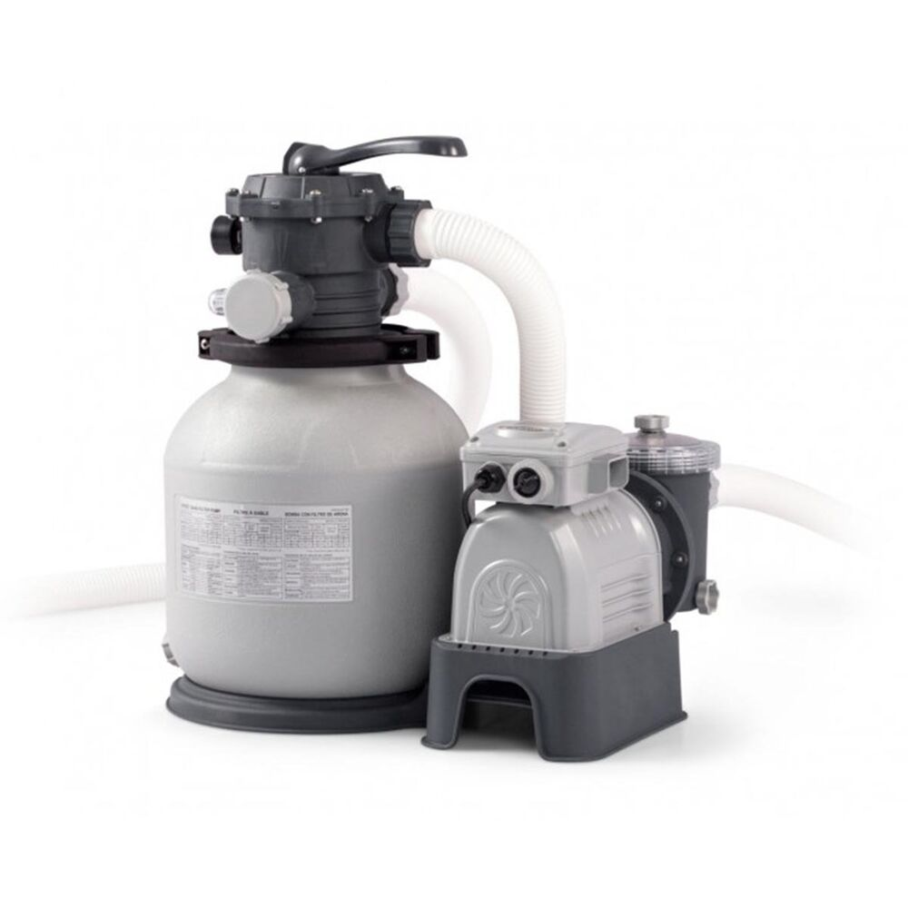intex krystal clear swimming pool sand filter pump 2100 gph 28646 ebay. Black Bedroom Furniture Sets. Home Design Ideas