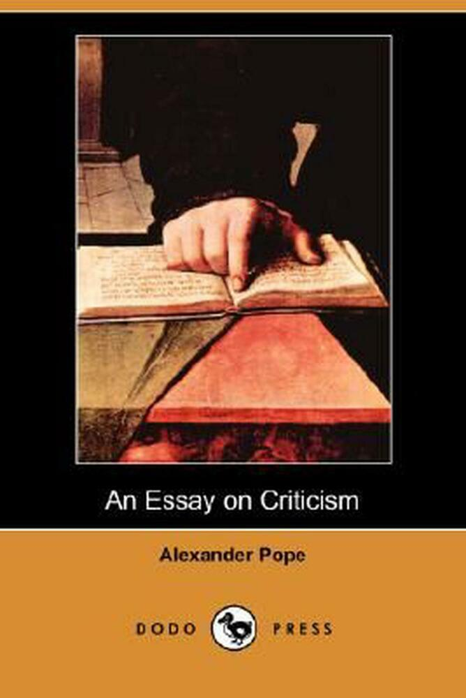 Critical Analysis Poetry Essay