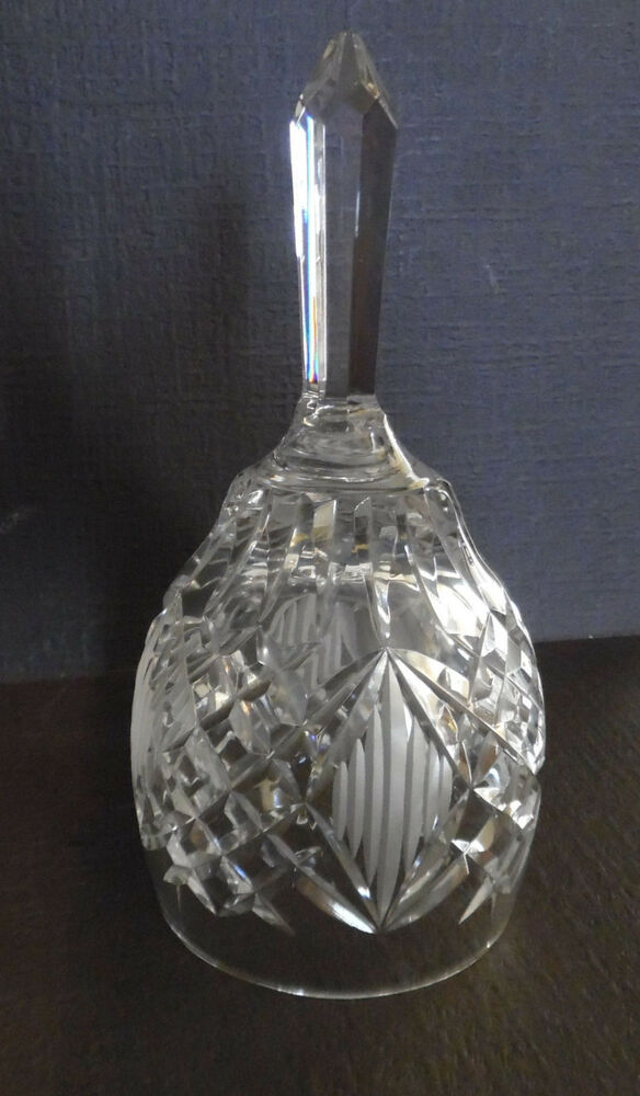 Crystal Cut Glass Bell