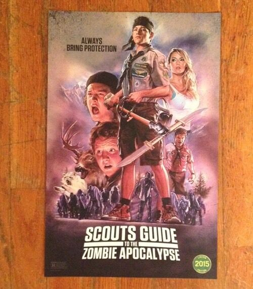 Scouts Guide to the Zombie Apocalypse - Moovposters