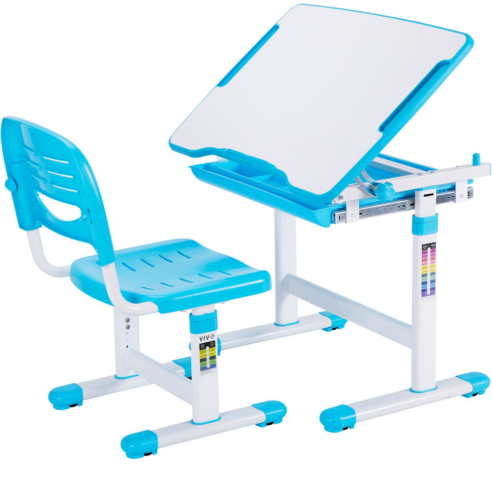 Vivo Height Adjustable Childrens Desk Amp Chair Kids