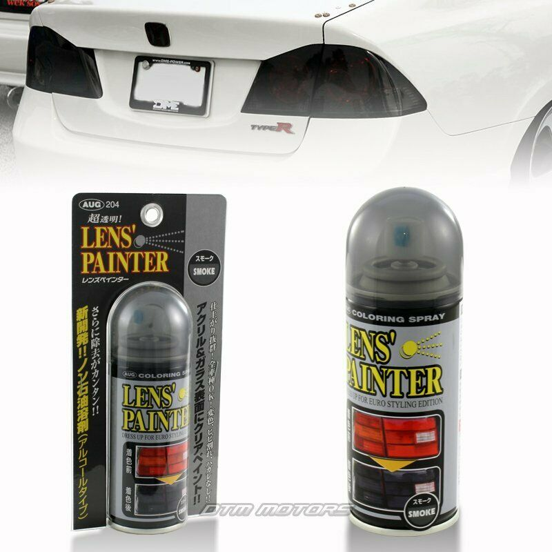 204 jdm smoke tint lens cannistor painter paint spray can 80ml ebay. Black Bedroom Furniture Sets. Home Design Ideas