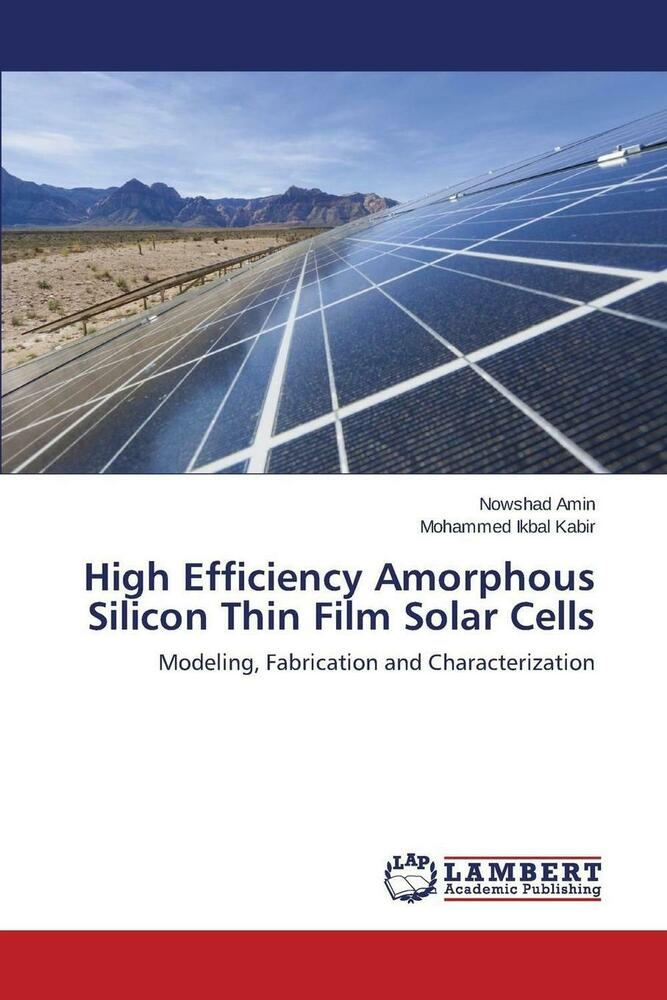 New High Efficiency Amorphous Silicon Thin Film Solar