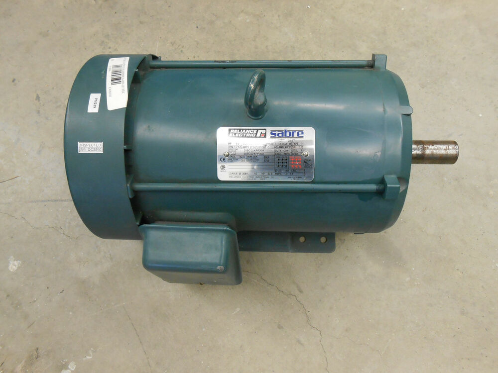 Reliance Electric Sabre 10hp P21s3027 Bd Electric Motor Ebay
