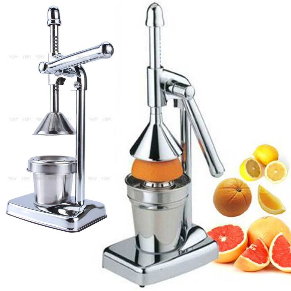 Commercial Grapefruit Juicer ~ Hand press squeezer commercial manual juicer orange citrus
