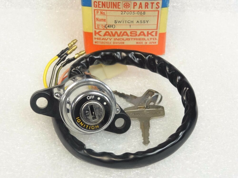 kawasaki nos new 27005 068 ignition switch assy key 417. Black Bedroom Furniture Sets. Home Design Ideas