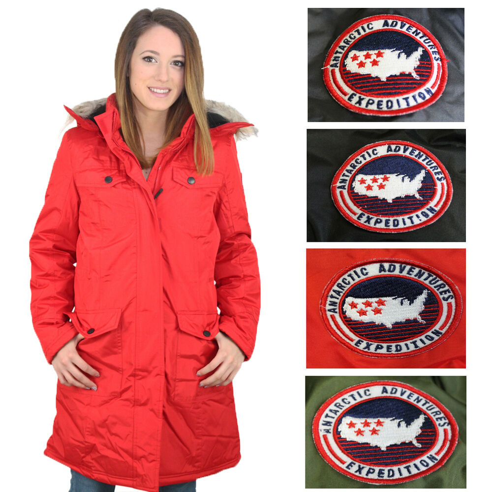 Canada Weather Gear Women S Faux Down Goose Winter Jacket