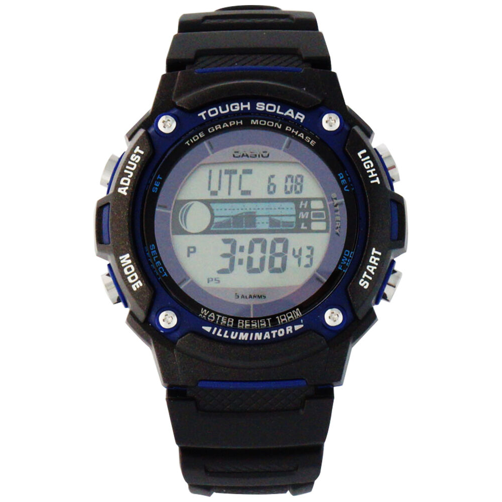 casio s tough solar powered tide and moon digital