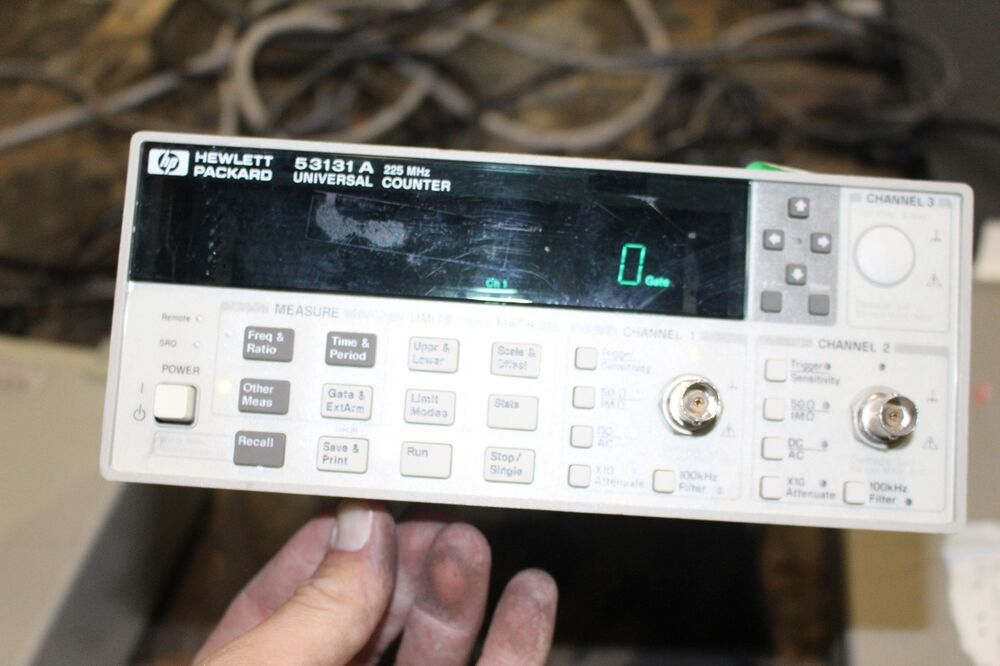 Agilent Frequency Counter : Agilent hp a universal frequency counter ebay