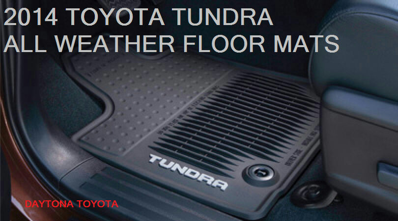 New 2014 2017 Toyota Tundra Double Cab All Weather Floor