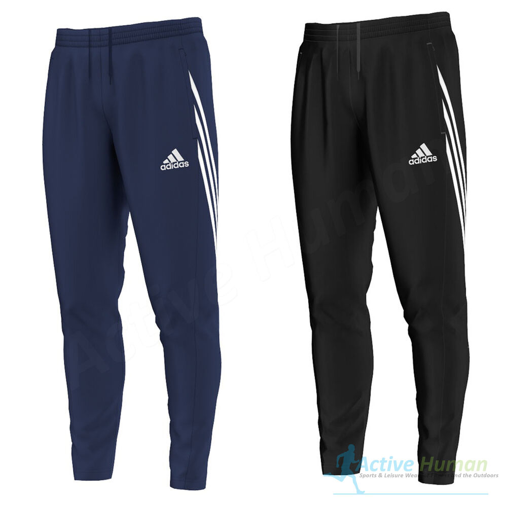 mens adidas sereno core training tracksuit bottoms pants football running sport ebay. Black Bedroom Furniture Sets. Home Design Ideas