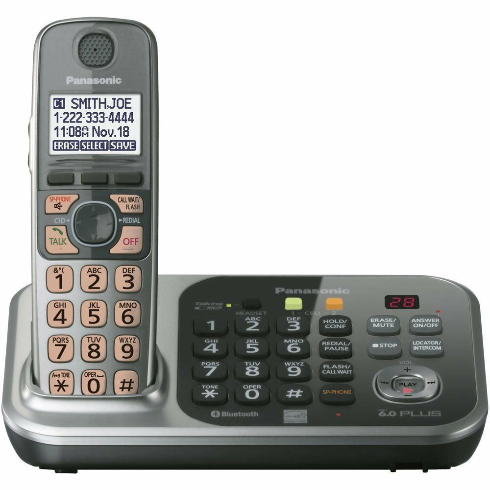 panasonic dect 6 0 cordless phone answering machine manual