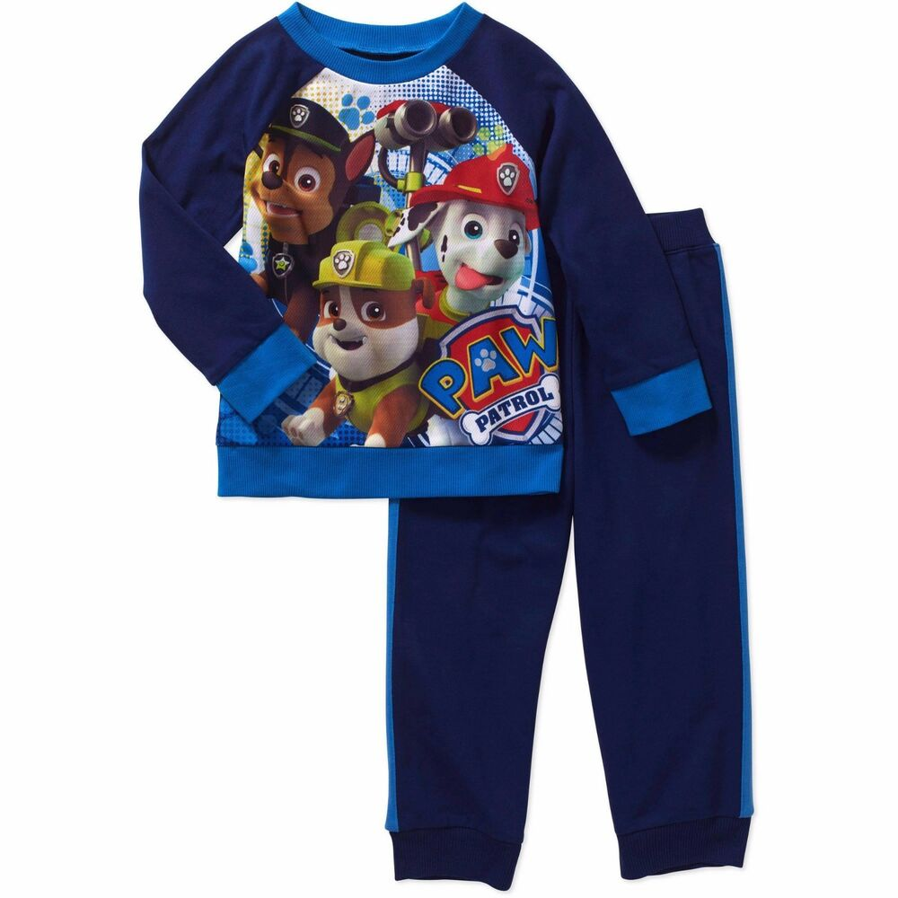 Nickelodeon Paw Patrol Long Sleeve Shirt Pants Outfit Set ...