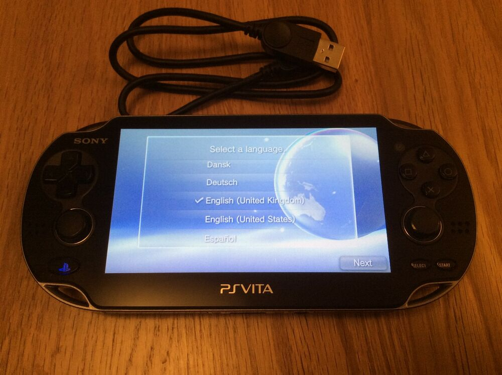Sony Ps Vita Console Wifi Only Pch 1004 Playstation Vita