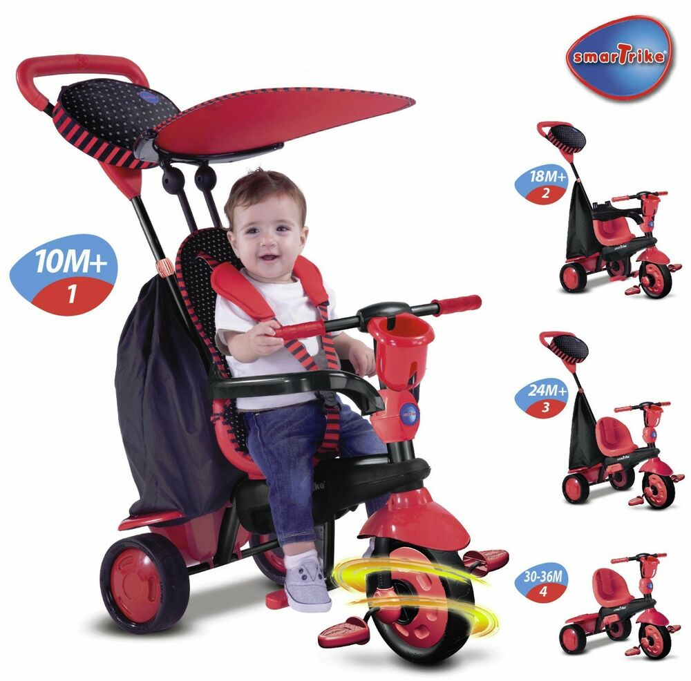 smart trike spark touch steering 4 in 1 babies tricycle. Black Bedroom Furniture Sets. Home Design Ideas