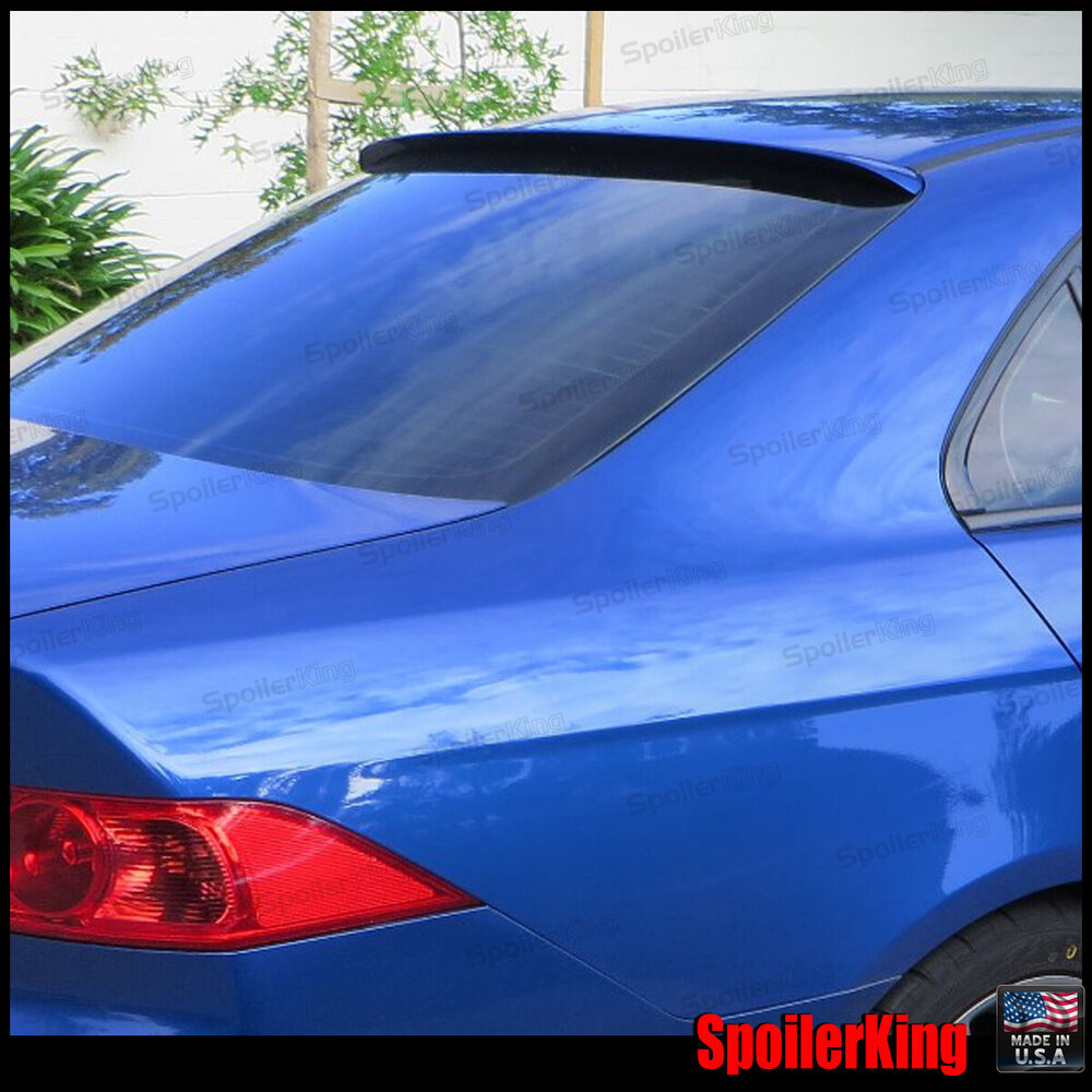 Rear Roof Spoiler Window Wing (Fits: Acura TSX 2004-08