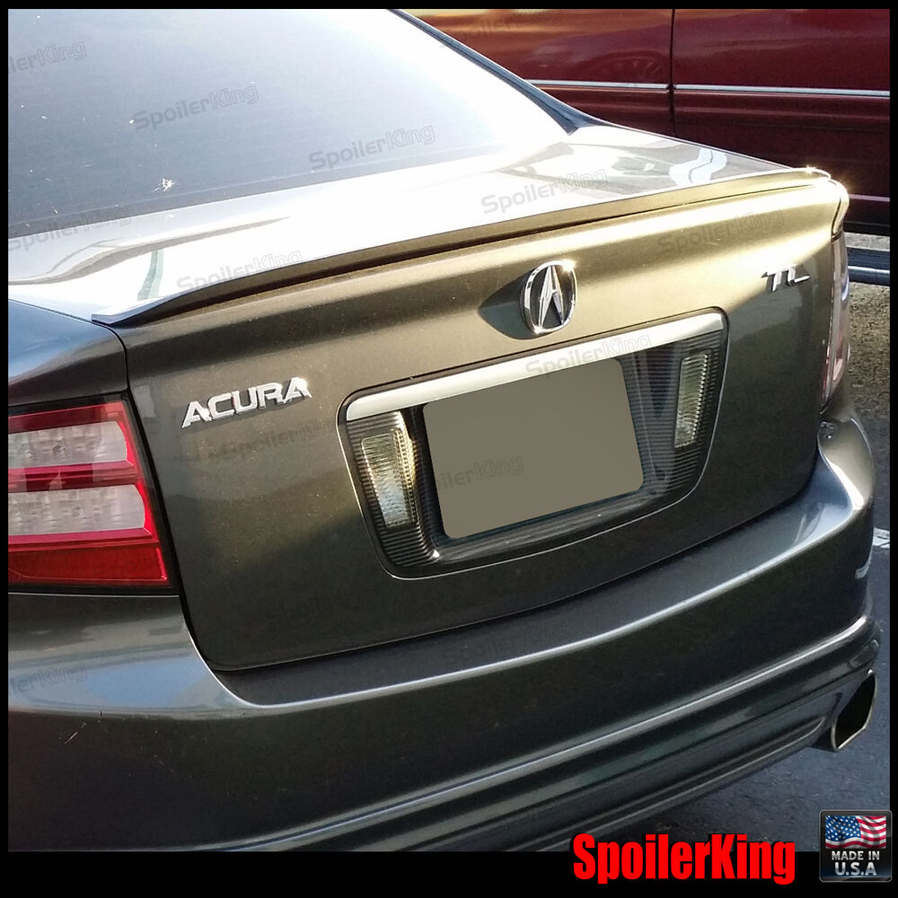 Painted 2004 2008 For Acura Tl Trunk Lip Spoiler Satin: Acura TL 2004-2008 04 05 06 07 08 Aero Style Rear Trunk