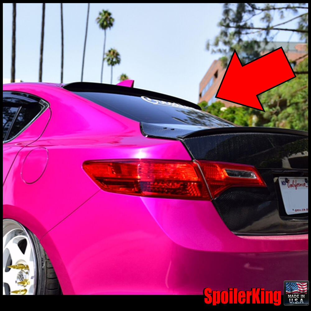 Rear Roof Spoiler Window Wing (Fits: Acura ILX 2013-15