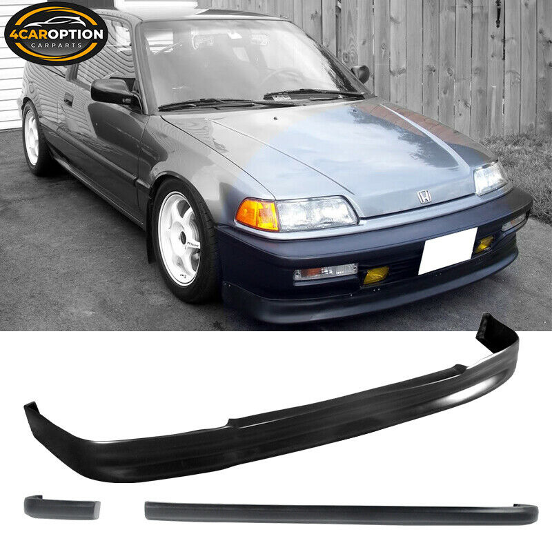 90 91 Honda Civic 3dr Hatchback Cs Front Ikon Rear Bumper