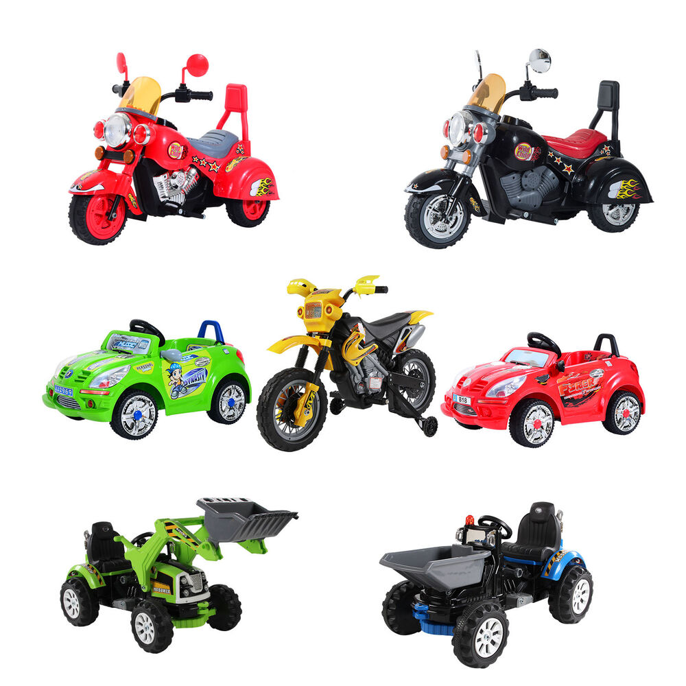 kinder elektroauto kinderfahrzeug motorrad traktor. Black Bedroom Furniture Sets. Home Design Ideas