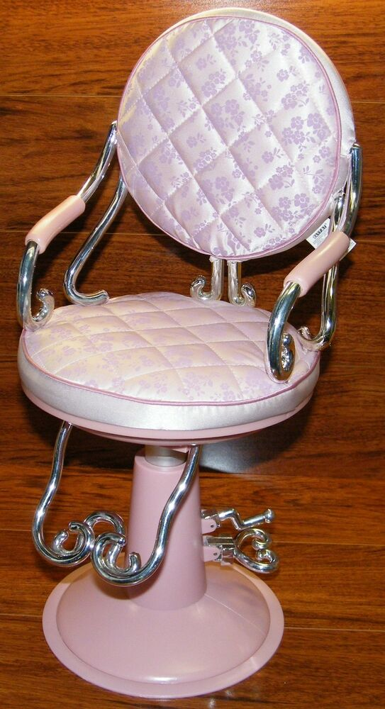 Battat Lavender Beauty Salon Rise Lower Chair Fits 18 American Gi