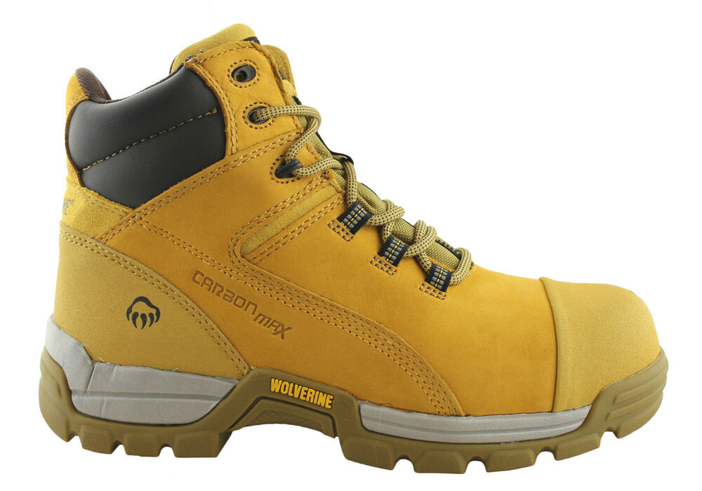 Caterpillar Cat Mens Work Shoes Steel Toe Lace Up