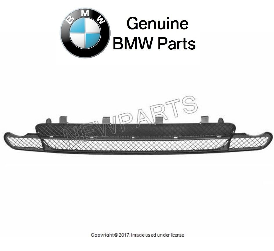 NEW BMW E46 Front Bumper Cover Grille Center For M Aero Or