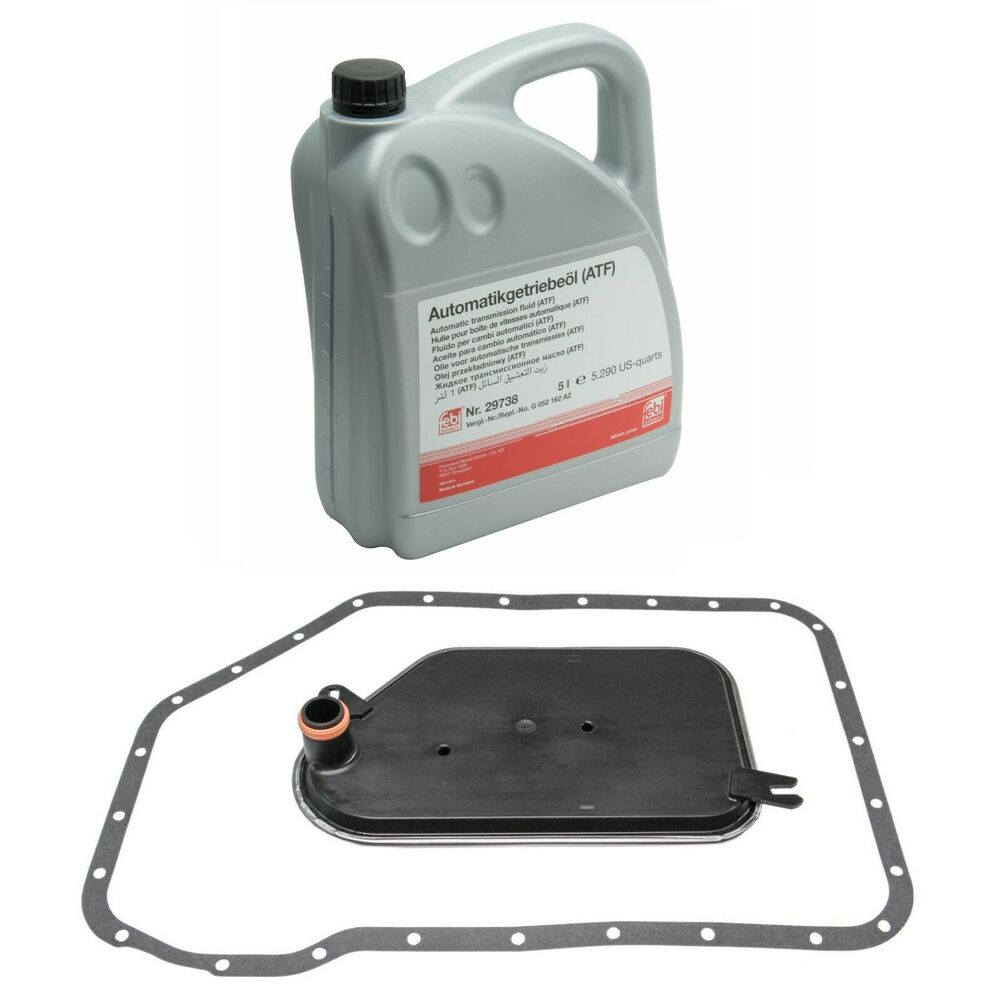 5 Liters Auto Transmission Fluid & Filter Kit For Audi A4