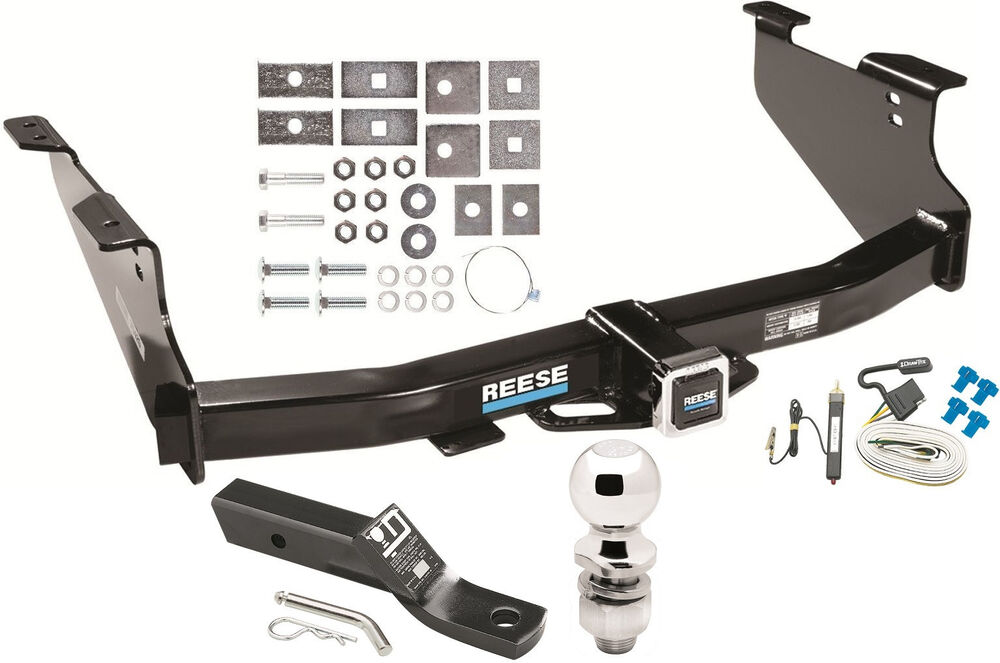 2003 2009 Dodge Ram  Complete Trailer Hitch Package W Wiring Kit Ebay