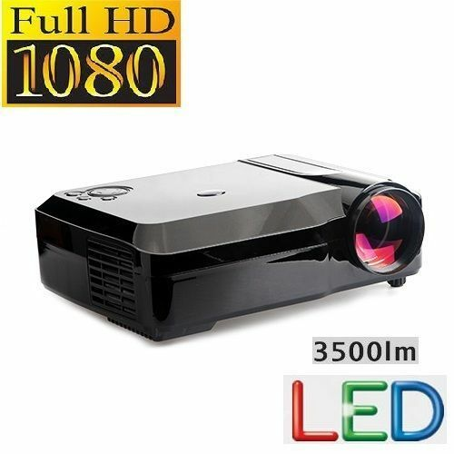 Led Projector 3500 Lumens Beamer 1280 800 Lcd Projector Tv: 3500 Lumens LED Projector Home Theater USB TV Full HD