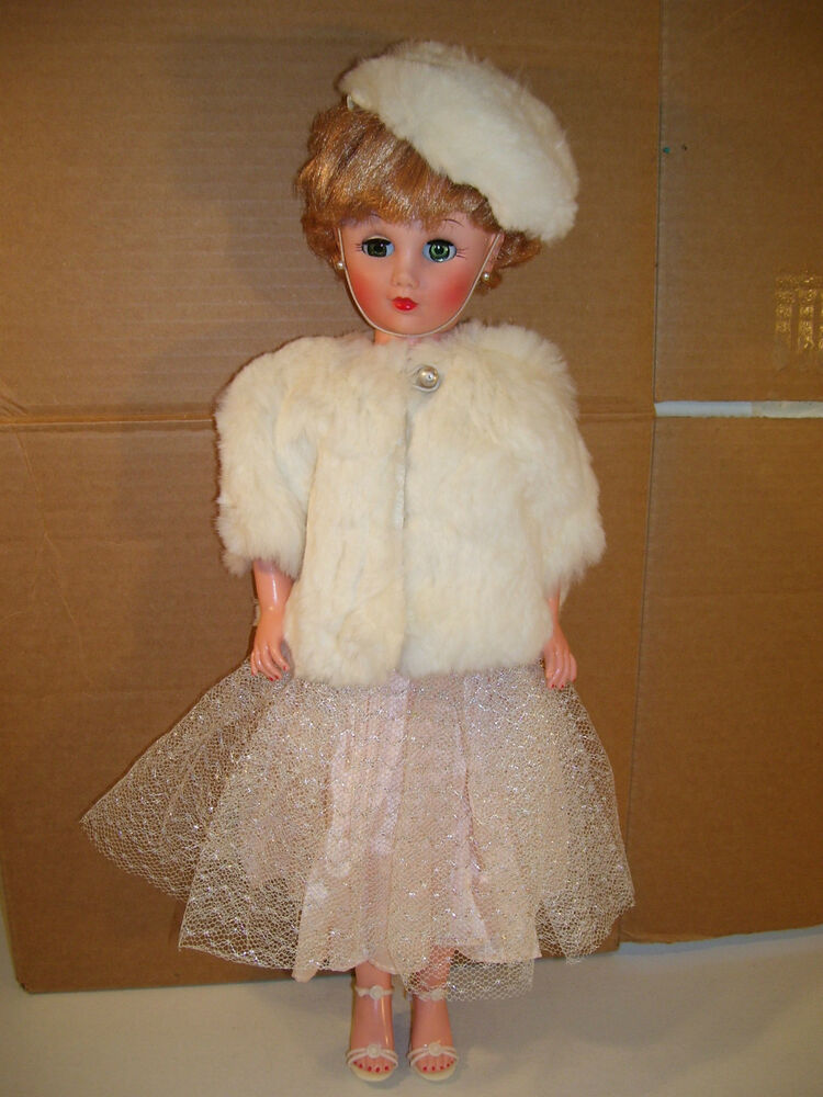 Antique Ideal Vinyl 18 Quot Fashion Doll 1950 S White Rabbit