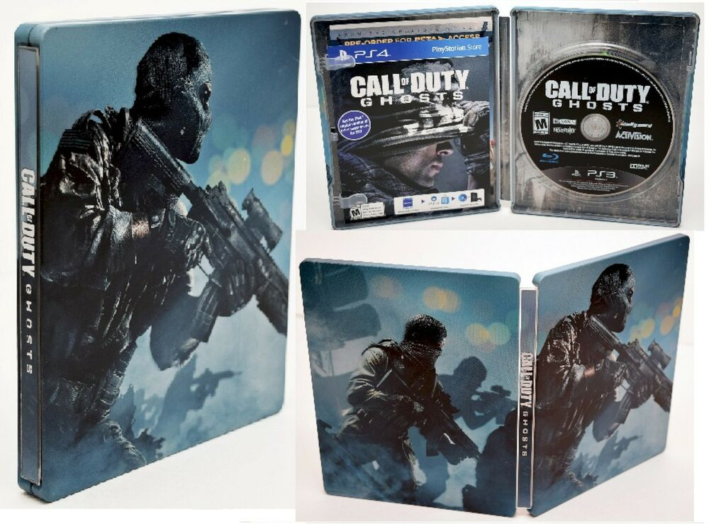 New Action Games For Ps3 : New ps call of duty ghosts hardened edition steelbook